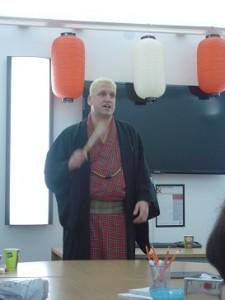 今日はスコットランドをイメージしたタータンチェックの着物で