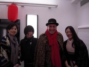 ロンドンで着物を販売する和想館が近日オープン!和服姿でご参加いただきました