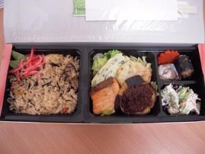 毎回好評のお弁当 彩り、味も大満足!日本らしさが満載のお弁当でした。